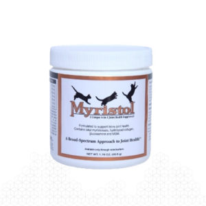 Myristol Feline takes a broad spectrum approach to joint health, for overweight cats it can protect joints during aging.