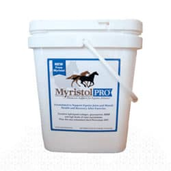 Myristol Pro is specially formulated to help your horse recover from extreme activity faster. Good for muscle soreness and to reduce myositis.